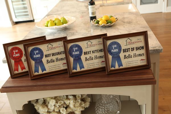 Best Kitchen Award From Rochester Home Builders Association